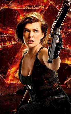 Milla Jovovich Resident Evil The Final Chapter Mobile Wallpaper Preview