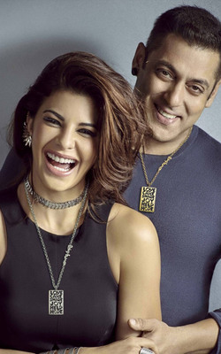 Jacqueline Fernandez With Salman Khan Mobile Wallpaper Preview