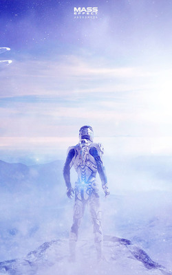 Mass Effect - Andromeda Mobile Wallpaper Preview