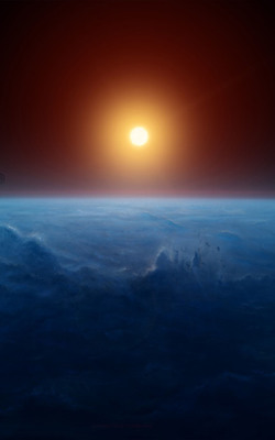 Sunrise Horizon Earth Mobile Wallpaper Preview