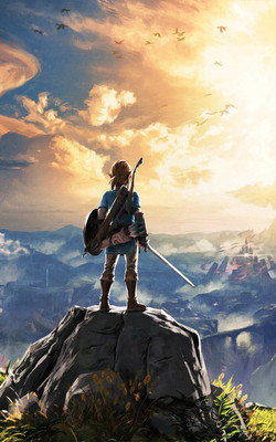 The Legend of Zelda Breath of The Wild 2 Mobile Wallpaper Preview
