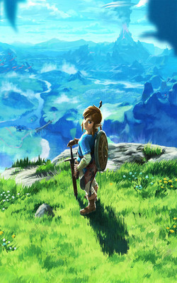The Legend of Zelda Breath of The Wild Mobile Wallpaper Preview