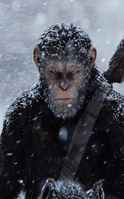 War For The Planet of The Apes Mobile Wallpaper Preview