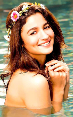 Alia Bhatt New 2017 Mobile Wallpaper Preview