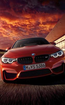 BMW M4 2017 Mobile Wallpaper Preview