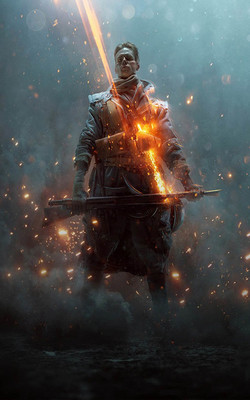 Battlefield 1 They Shall Not Pass Mobile Wallpaper Preview
