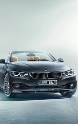 BMW Alpina D4 BI Turbo Cabrio Mobile Wallpaper Preview