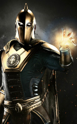 Injustice 2 Doctor Fate Mobile Wallpaper Preview
