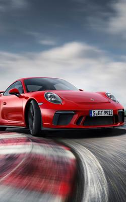 Porsche 911 GT3 Mobile Wallpaper Preview