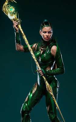 Rita Repulsa In Power Rangers Mobile Wallpaper Preview