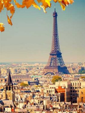 Amazing View of Eiffel Tower HD Mobile Wallpaper Preview