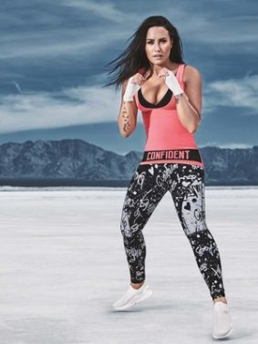 Demi Lovato Fitness Click HD Mobile Wallpaper Preview