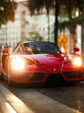 Enzo Red Ferrari HD Mobile Wallpaper Preview