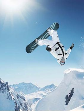 Extreme Snowboarding HD Mobile Wallpaper Preview
