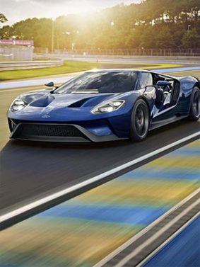 Ford GT Supercar HD Mobile Wallpaper Preview