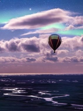 Hot Air Balloon Ride HD Mobile Wallpaper Preview