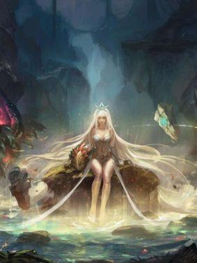 Janna League Of Legends HD Mobile Wallpaper Preview