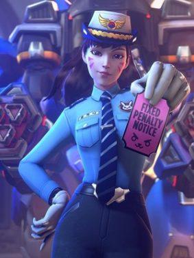 Officer DVA HD Mobile Wallpaper Preview