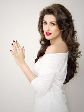 Parineeti Chopra White Dress HD Mobile Wallpaper Preview