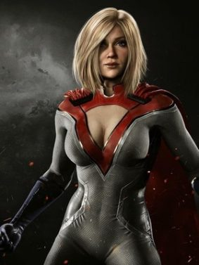 Power Girl In Injustice 2 HD Mobile Wallpaper Preview