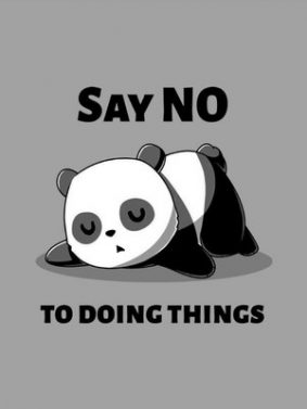 Say No To Doing Things HD Mobile Wallpaper Preview
