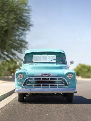 Vintage Chevrolet Chevy 3100 HD Mobile Wallpaper Preview