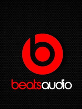 Beats Audio Red Black Logo HD Mobile Wallpaper Preview
