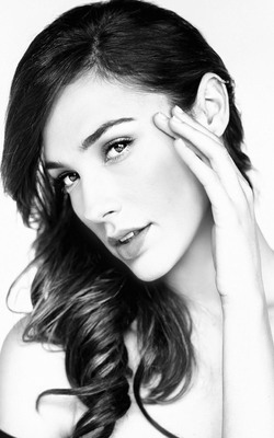 Gal Gadot Black And White Photoshoot HD Mobile Wallpaper Preview