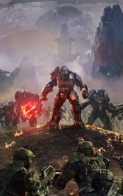 Halo Wars 2 Atriox Battlefield HD Mobile Wallpaper Preview