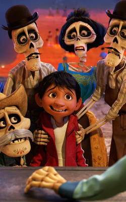 Pixar Coco 2017 HD Mobile Wallpaper Preview