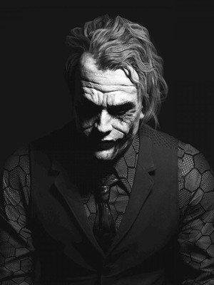 Download The Joker Black And White Free Pure 4k Ultra Hd