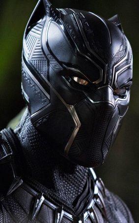 Black Panther Movie HD Mobile Wallpaper