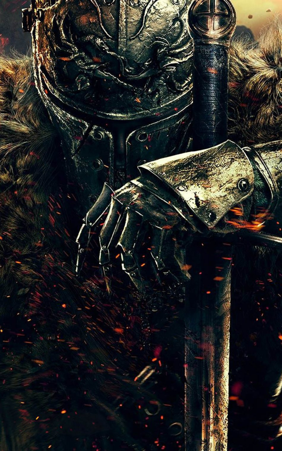 Dark Souls 2 Warrior Knight HD Mobile Wallpaper