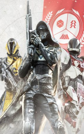 Destiny 2 Game Fighters HD Mobile Wallpaper