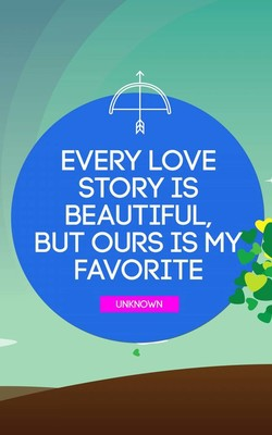 Every Love Story Is Beautiful HD Mobile Wallpaper Preview