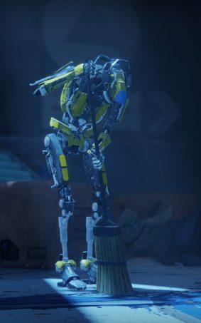 Robots In Destiny 2 Game HD Mobile Wallpaper