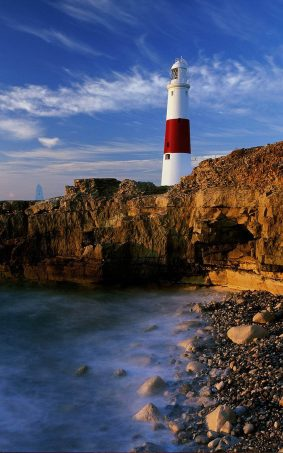 A Lighthouse In England HD Mobile Wallpaper