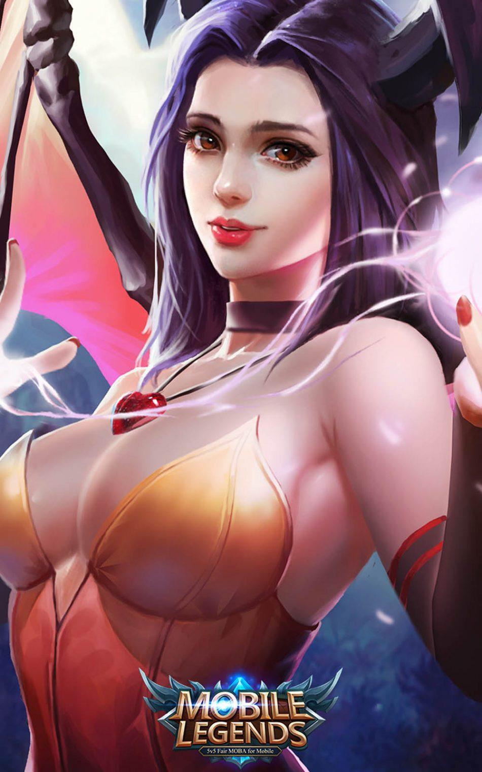 Nice Alice Mobile Legends Hero HD Mobile Wallpaper