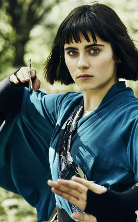 Ally Ioannides Tilda Into The Badlands HD Mobile Wallpaper