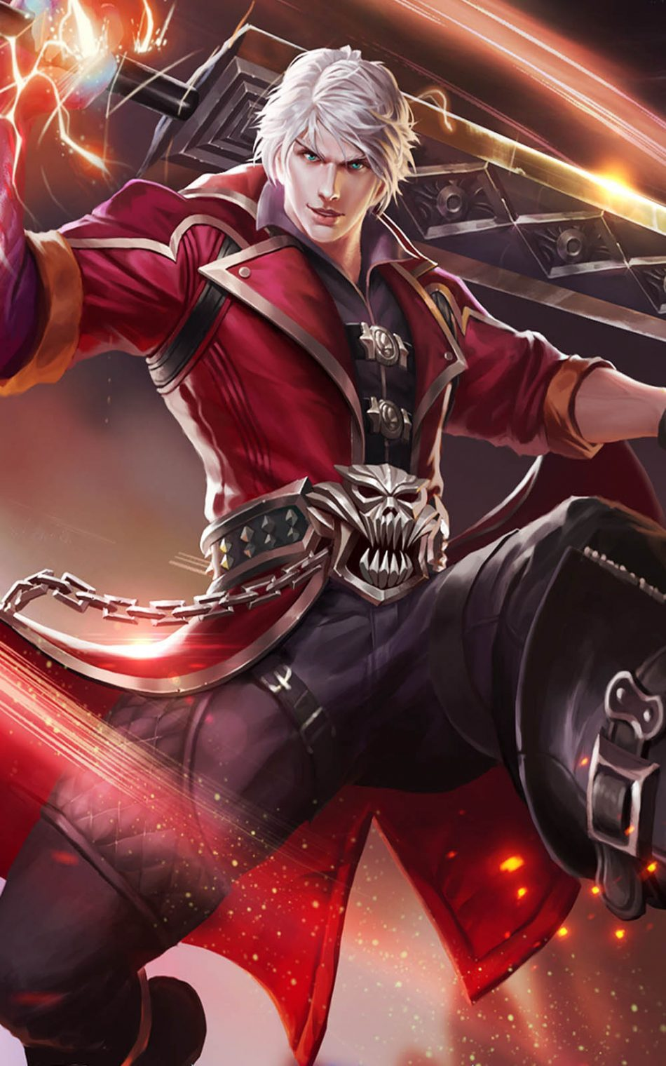Delightful Alucard Mobile Legends Hero HD Mobile Wallpaper