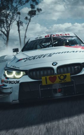 BMW M4 DTM In Action HD Mobile Wallpaper
