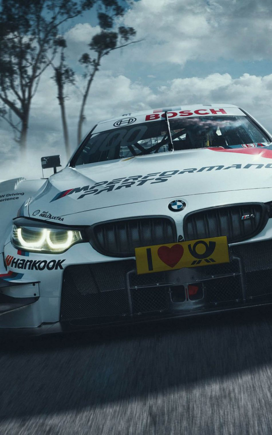 Download Bmw M4 Dtm In Action Free Pure 4k Ultra Hd Mobile Wallpaper