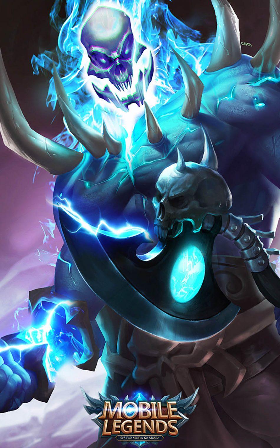 Balmond Ghoul's Fury Mobile Legends Hero HD Mobile Wallpaper