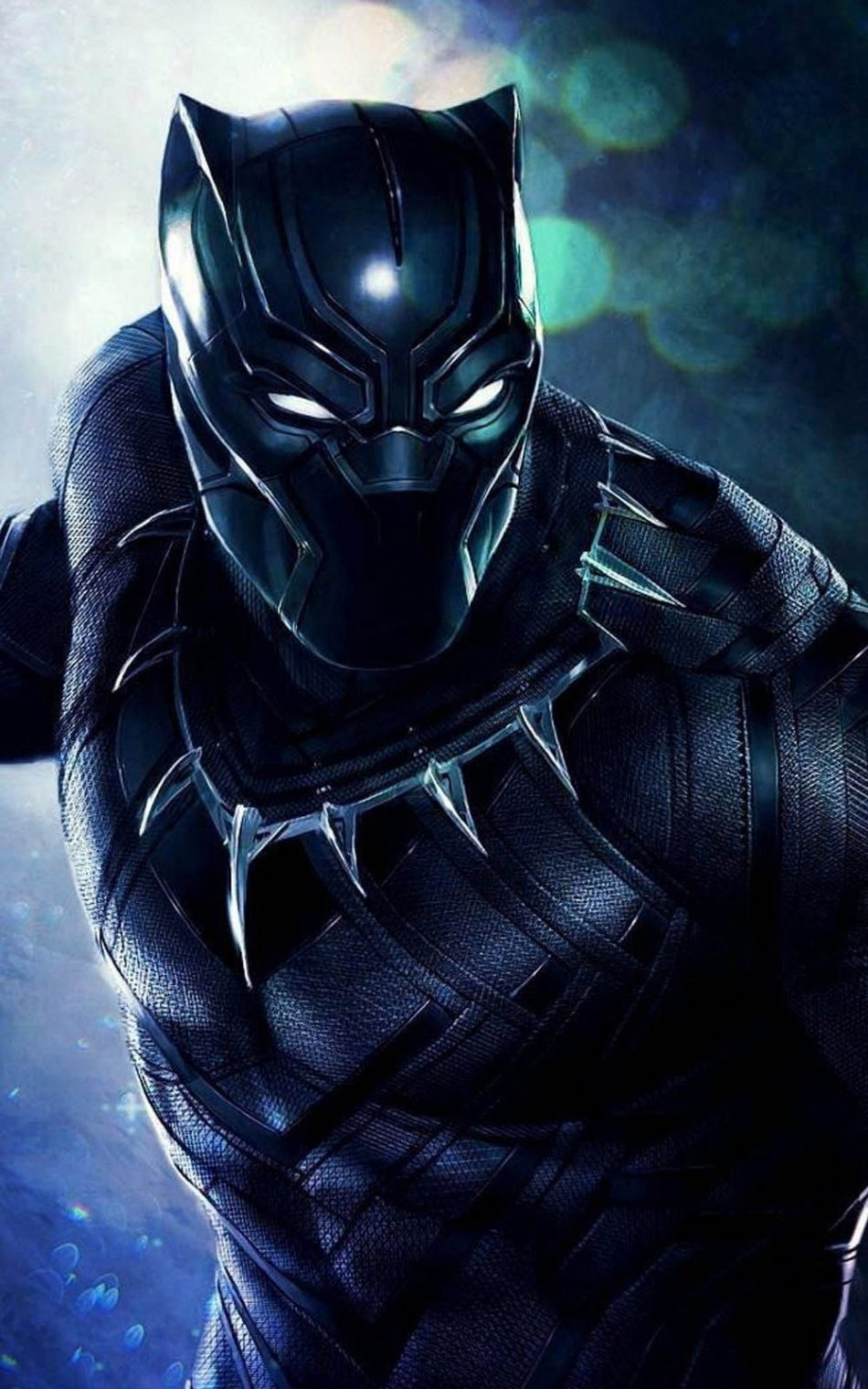 Black Panther Artwork 4K Ultra HD Mobile Wallpaper