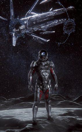 Hyperion Mass Effect Andromeda HD Mobile Wallpaper