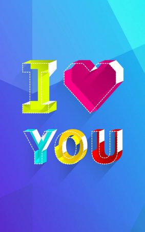 I Love You Clipart HD Mobile Wallpaper