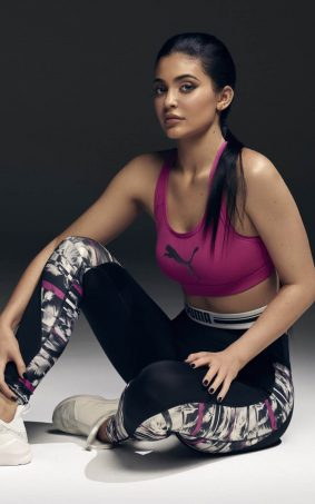 Kylie Jenner Puma Photoshoot HD Mobile Wallpaper