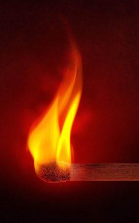 Match Fire Flame HD Mobile Wallpaper