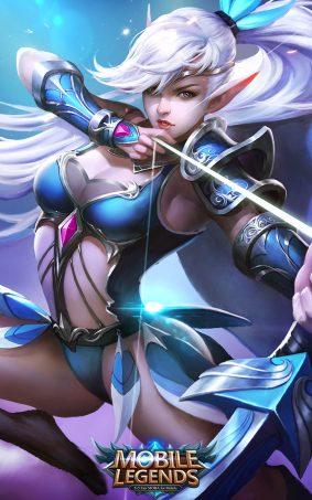 Miya Mobile Legends Hero HD Mobile Wallpaper