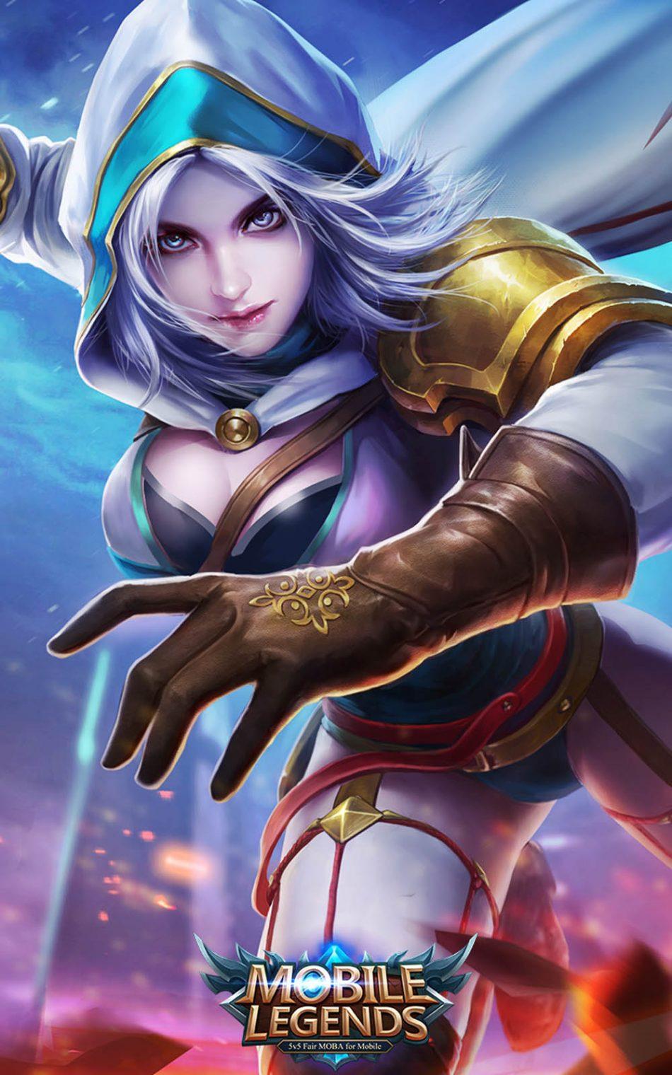 Download Natalia Mobile Legends Hero Free Pure 4k Ultra Hd Mobile Wallpaper